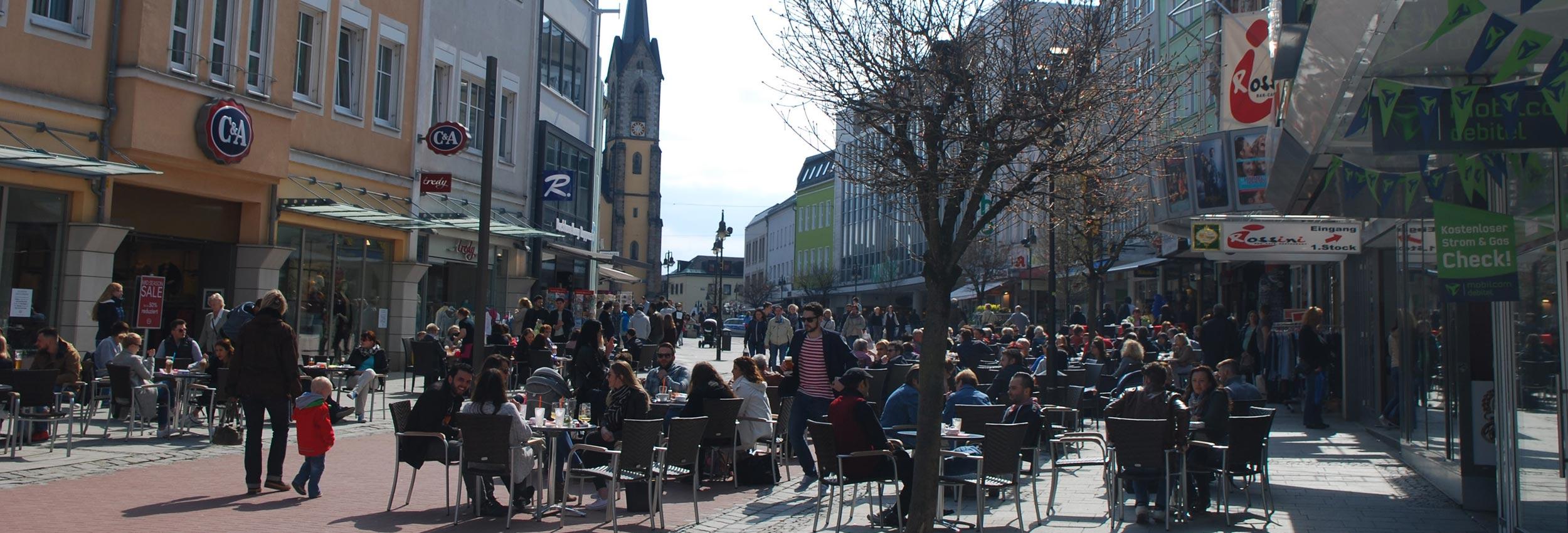 Lebenswerte Stadt Hof